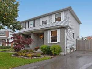 BEAUTIFUL WELL MAINTAINED SEMI-DETACHED WITH GORGEOUS GROUNDS!