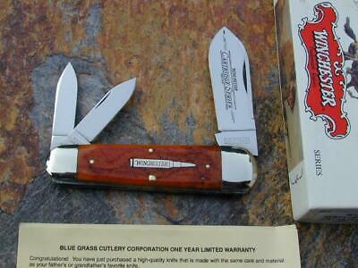 2003 WINCHESTER CARTRIDGE SERIES SUNFISH TOENAIL WHITTLER USA KNIFE RARE 17+ MIB