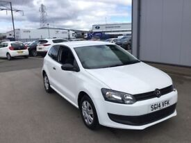 VOLKSWAGEN POLO 1.2 S 3DR (white) 2014