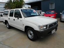 2000 Toyota Hilux LN147R White 5 Speed Manual Utility Yeerongpilly Brisbane South West Preview
