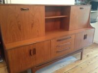 Vintage/retro G Plan teak sideboard/cocktail cabinet