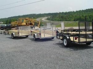 Utility Trailers, Dump Trailers, Equipment Haulers, and Cargo!