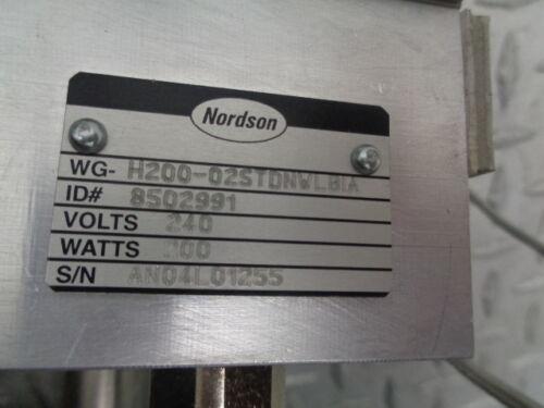 NORDSON WG SERIES 8502991 ELECTRIC GLUE GUN