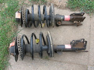 two used complete front struct assemblies 2005 caravan