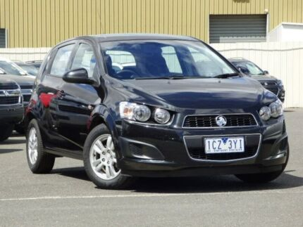 2014 Holden Barina TM MY15 CD Black 6 Speed Automatic Hatchback Diggers Rest Melton Area Preview