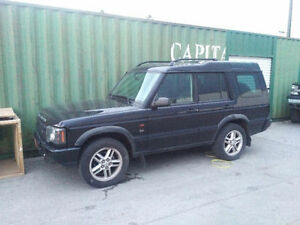 ** 2003 Land Rover Discovery **