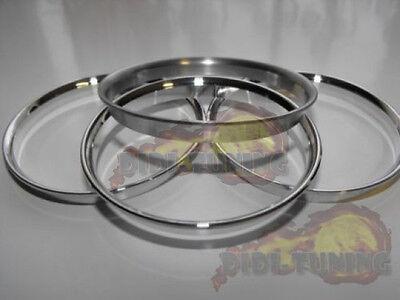 Alu Ring für Lichtschalter Aluring VW Tiguan Chrom