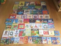 Over 60 young children's books in excellent condition