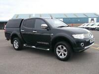 Mitsubishi L200 D/CAB DI-D WARRIOR LI 4WD 176 BHP DIESEL MANUAL BLACK (2013)