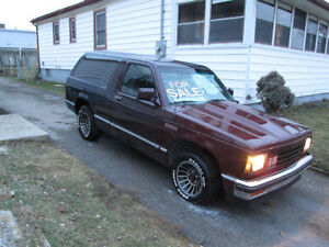 1986 GMC  s15 Jimmy
