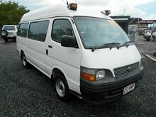 2002 Toyota Hiace LH184R Commuter White 5 Speed Manual Bus Wacol Brisbane South West Preview