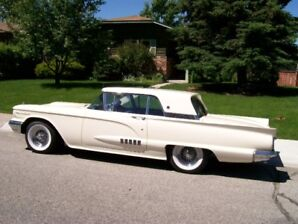 1958 Ford Thunderbird chrome Coupe (2 door)