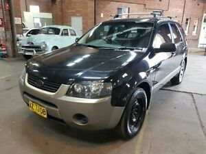 2008 Ford Territory SY TX (4x4) Black 6 Speed Auto Seq Sportshift Wagon Georgetown Newcastle Area Preview