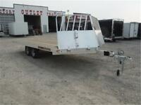 18 ft 4-Place Drive-On/Drive-Off Snowmobile Trailer **TAXES IN**