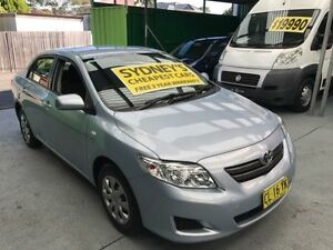 2009 Toyota Corolla ZRE152R Ascent Light Blue 4 Speed Automatic Sedan Five Dock Canada Bay Area Preview