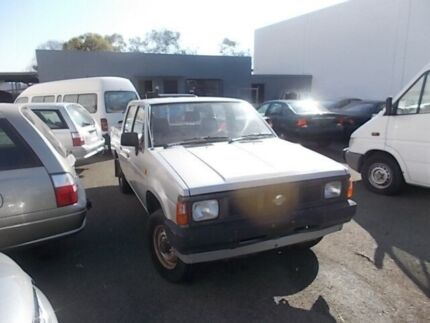 1991 Nissan Navara D21 ST Silver 5 Speed Manual Dual Cab