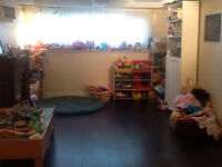Loving home daycare one space available near Conestoga mall