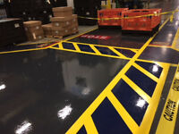 Epoxy Flooring for garage, basement or commercial applications!