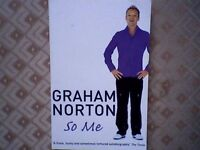 "GRAHAM NORTON AUTOBIOGRAPHY ""SO ME"""