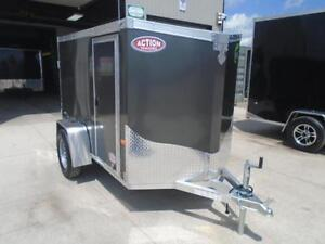 LIGHT WEIGHT CARGO TRAILER - 2017 NEO 5X8' - VERY EASY TO TOW London Ontario image 2