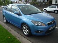 Ford Focus 1.6i 16V 100BHP ZETEC AUTO **Full Service History** (blue) 2010
