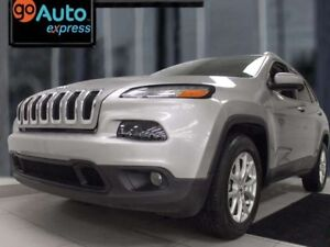 2016 Jeep Cherokee North 4x4 with sunroof, heated power leather