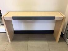 Cream Wooden Ex-Display Console Hall Table Good Condition Balcatta Stirling Area Preview