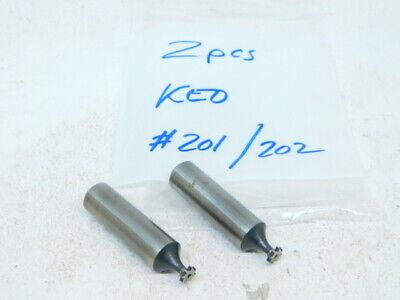 Used Keo 2pcs. Straight Tooth Hss Woodruff Keyseat Cutters 14 X 116 X 12