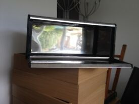 Stainless steel bread bin for the kitchen