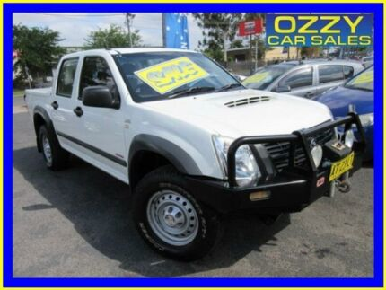 2007 Holden Rodeo RA MY08 LX (4x4) White 4 Speed Automatic Crew Cab Pickup Minto Campbelltown Area Preview