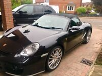 Porsche Boxster 3.2S (CAT C) private plate Soft top, comes with hard top & stand, lots of upgrades