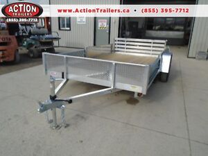 12' ALUMINUM UTILITY - TONS OF FEATURES AT A LOW PRICE! London Ontario image 1