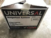 Marley Eternit Universal RidgeFast System - boxed - Ridge Fast