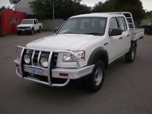 2008 Ford Ranger PJ 07 Upgrade XL (4x4) White 5 Speed Manual Dual Cab Chassis Victoria Park Victoria Park Area Preview