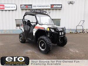 2010 Polaris Industries Ranger RZR® Pearl White LE