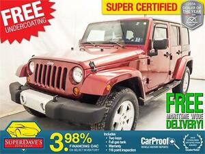 2011 Jeep Wrangler Unlimited Sahara 4X4 *Warranty*