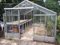"""Quality Cambridge Varsity Greenhouse. 12'5"""" x 10'10""""."""