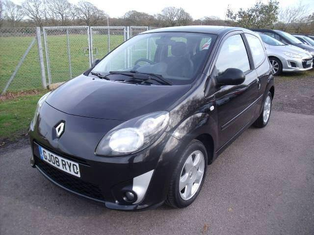 Renault Twingo Dynamique 16v Fsh Black Manual Petrol