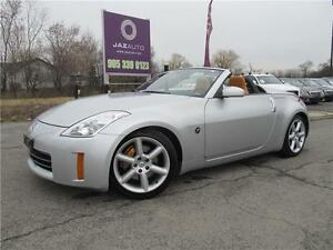 "2007 Nissan 350Z w/Orange Seats ""2 SET TIRES AND RIMS"" LOW MILES"