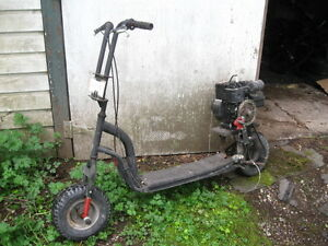Motorized Foot Scooter