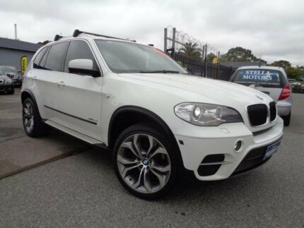 2011 BMW X5 E70 MY10 xDrive 35I White 8 Speed Automatic Sequential Wagon Pooraka Salisbury Area Preview