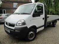 Vauxhall Movano 2.5 CDTI ,PICK UP, DROP SIDE, ALLOY BODY 2007 REG NO VAT