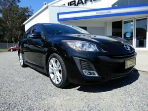 2011 Mazda 3 BL10L1 MY10 SP25 Activematic Black 5 Speed Sports Automatic Hatchback Glendale Lake Macquarie Area Preview