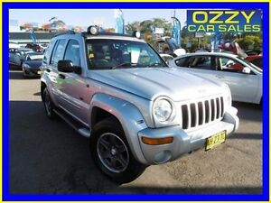 2003 Jeep Cherokee KJ Renegade (4x4) Silver 5 Speed Automatic Wagon Penrith Penrith Area Preview