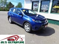 2014 Toyota RAV4 LE 4x4 w/ power pkg only $87 weekly all in!