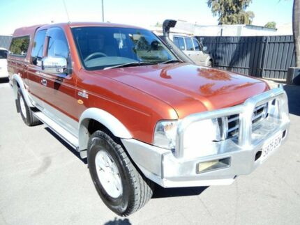 2002 Ford Courier PG XLT Super Cab Bronze Red 5 Speed Manual Utility Enfield Port Adelaide Area Preview