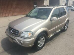 2003 MERCEDES ML500 7 SEATER!!!