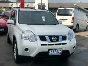 2012 Nissan X-Trail T31 MY11 ST (FWD) White Continuous Variable Wagon Burwood Whitehorse Area Preview