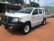 2011 Toyota Hilux KUN26R MY10 SR White 5 Speed Manual 4D Cab Chassis Richmond Hawkesbury Area Preview