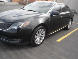 2014 Lincoln MKS,3.7,AWD,NAVI,BLK/BLK,CAMERA